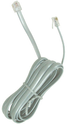 LINE CORD 12000: 7'  6 Conductor, Silver Satin, Bagged