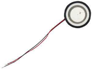 SPEAKER 36300: Nortel, Companion 3060,Piezo with Retainer Ring