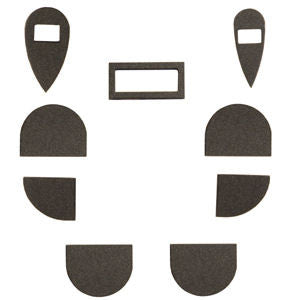 9 PC Bumper set feet for Shoretel 200 series stand