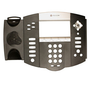 TOP HOUSING 23550: Polycom, IP 550,Charcoal with Silver Bezel