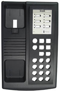 TOP HOUSING 30010: Avaya, Euro 6, New or Old Style, Black