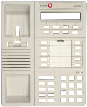 TOP HOUSING 30090: Avaya, MLX, 10D, Old Style, White