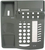 TOP HOUSING 30500: Avaya, 6408D+, Gray,  with Desis, (This style top has the Microphone holder)