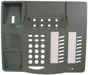 TOP HOUSING 30620: Avaya, 6416D+M, Gray, with Desi Paper and Plastic