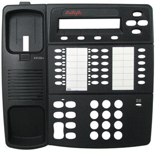 TOP HOUSING 31830: Avaya, 4412D+, Black, With Desi Plastic, Paper