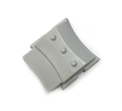 WALL CLIP 30085: Avaya Euro Series 2, White