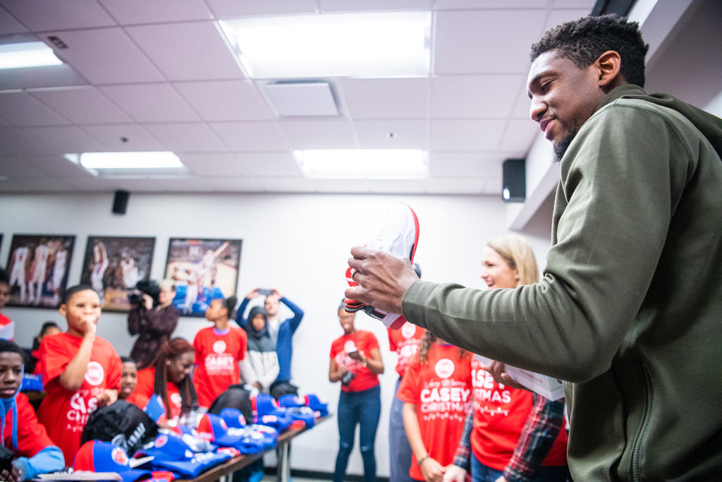 Casey Christmas - Pistons Coach Dwane Casey & Point Guard Langston Galloway Surprise Detroit Youth