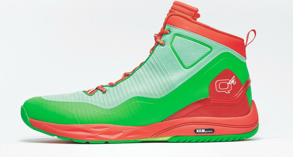 Q4 Sports Debuted Custom Christmas Kicks for JaVale McGee & E'Twaun Moore
