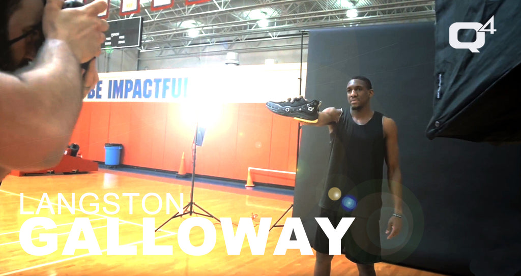 Behind The Scenes: Langston Galloway's Q4 Sports Photoshoot