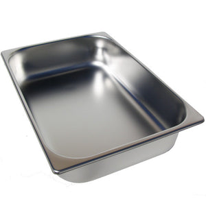 5.5 Liter Shallow Stainless Steel Pan