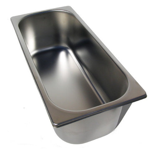 5 Liter Stainless Steel Ice Cream Pan