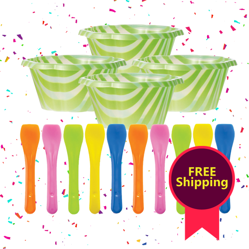 Party pack Joy Cups (40 cups & 50 spoons)