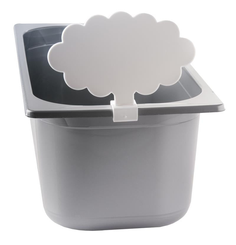 Cloud Shape Flavor Tags