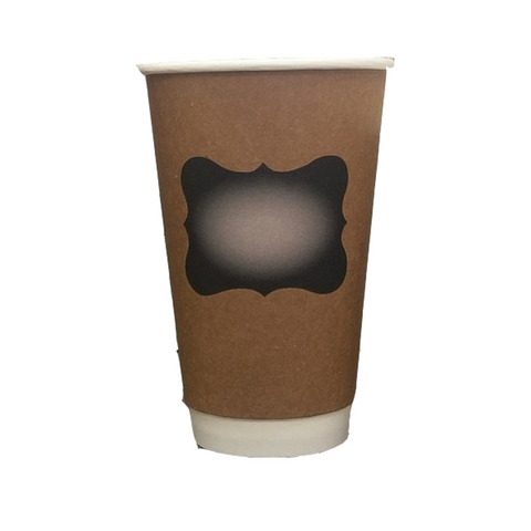 16oz Double Wall Coffee Cups