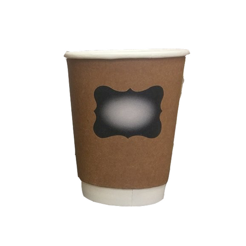 12oz Double Wall Coffee Cups