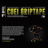 Cuei Griptape 40x11 inch sheet / 24 grit coarse - The Boardroom