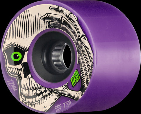 Kevin Reimer 72mm 75a Purple w/ Black Hub - The Boardroom