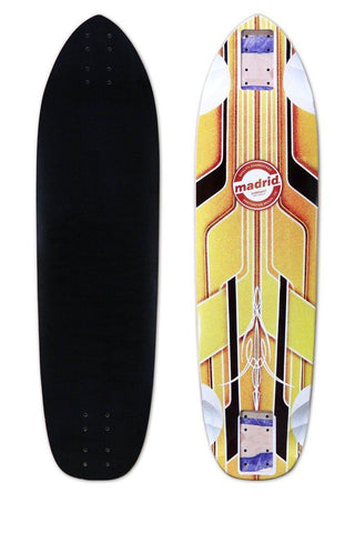 "Madrid 2019 Pro Series Dominant 34.5"" Longboard Deck - The Boardroom"