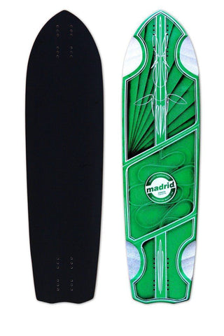 "Madrid 2019 Pro Series Wraith 34.5"" Longboard Deck - The Boardroom"