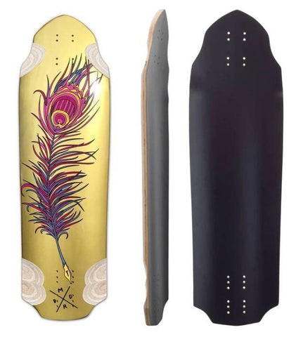 "Madrid Snitch Harry Clarke Quill 32"" Longboard Deck - The Boardroom"