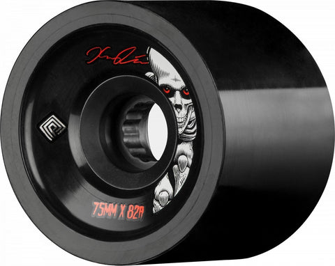Powell Peralta Pro Kevin Reimer Skateboard Wheels 75mm 82A 4pk Black - The Boardroom