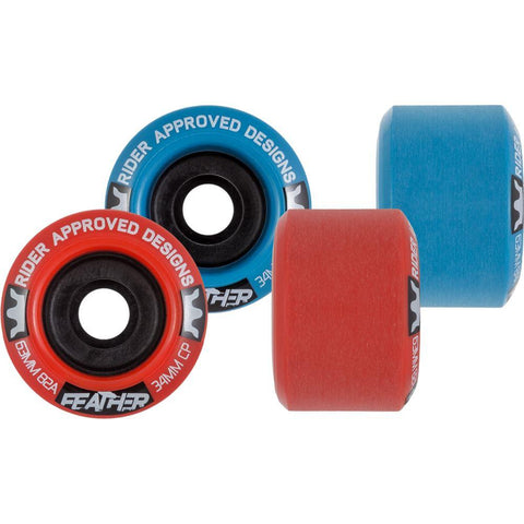 RAD Feather 63mm Longboard Wheels - The Boardroom