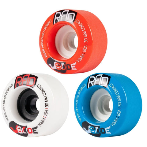 RAD Glide 70mm Longboard Wheels - The Boardroom