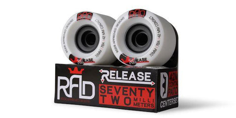 RAD Release 72MM Wheels - The Boardroom