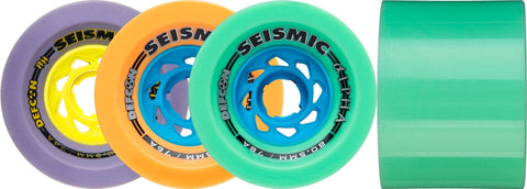 Seismic Alpha 80.5mm Longboard Wheels - The Boardroom