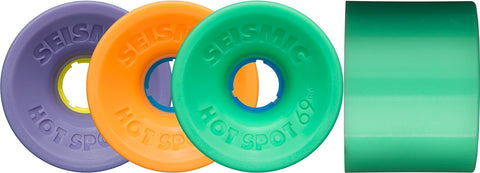 Seismic Hot Spot 69mm Longboard Wheels - The Boardroom