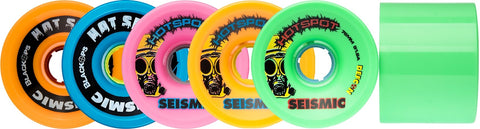 Seismic Hot Spot 76mm Longboard Wheels - The Boardroom