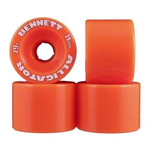 Alligator Wheels 71mm 79a Orange - Bennett - The Boardroom NZ