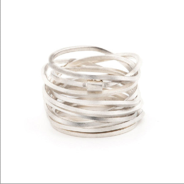 Ultra Coil Ring by Anna Davern at eclecticartisans.com