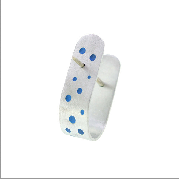 Spotty Ring by Katherine Grocott at eclecticartisans.com