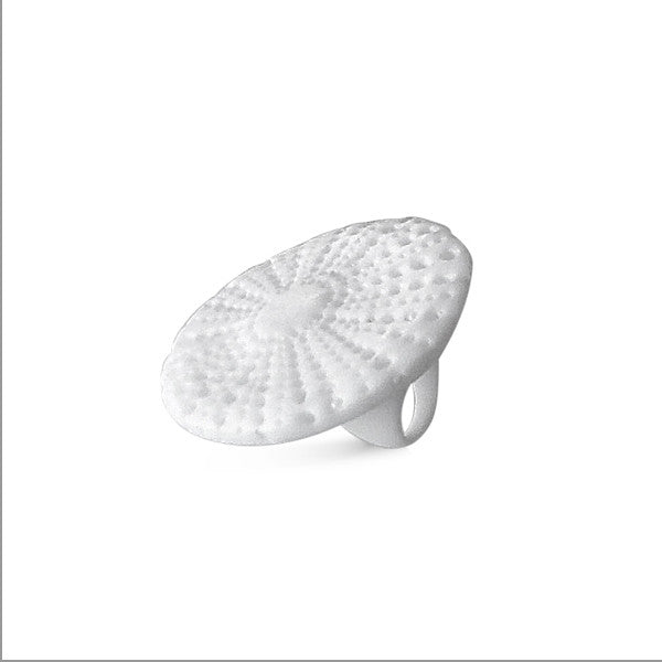 Shell Ring by Kristine Oss at eclecticartisans.com