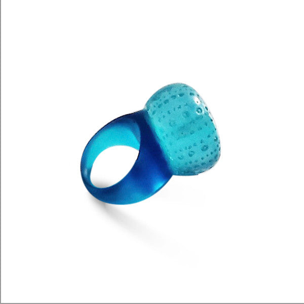 Sea Urchin Ring by Kristine Oss at eclecticartisans.com