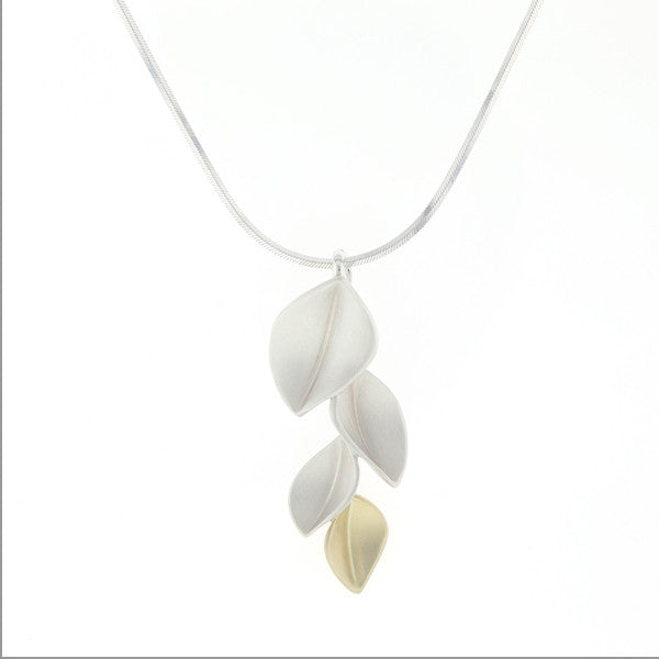 4 Leaf Pendant, Leaf Collection by Nicola Bannerman at eclecticartisans.com