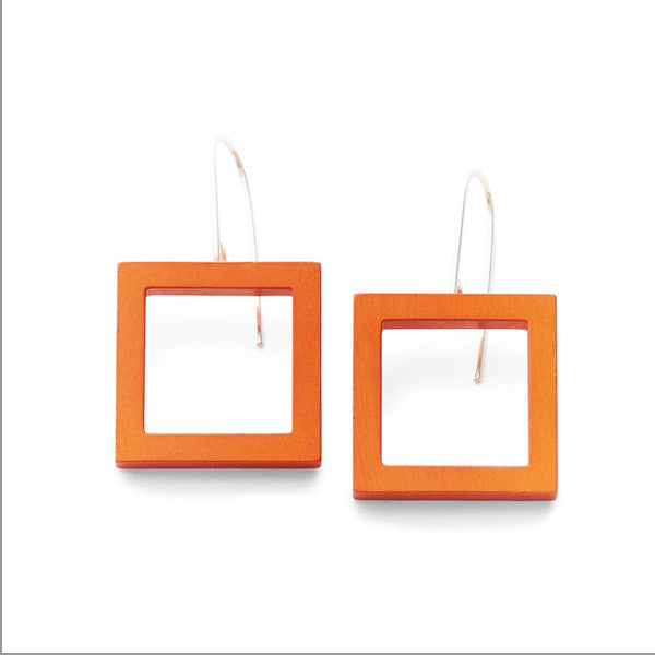 Squared Earrings by Kalinowski Jewellery at eclecticartisans.com