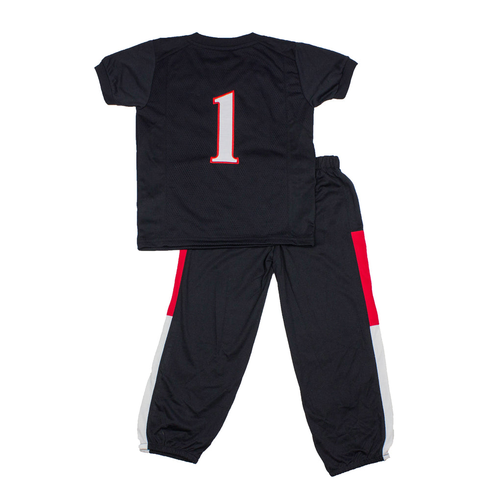 "Texas Tech University ""Two-Piece"" Toddler Football Uniform Pajama Set"
