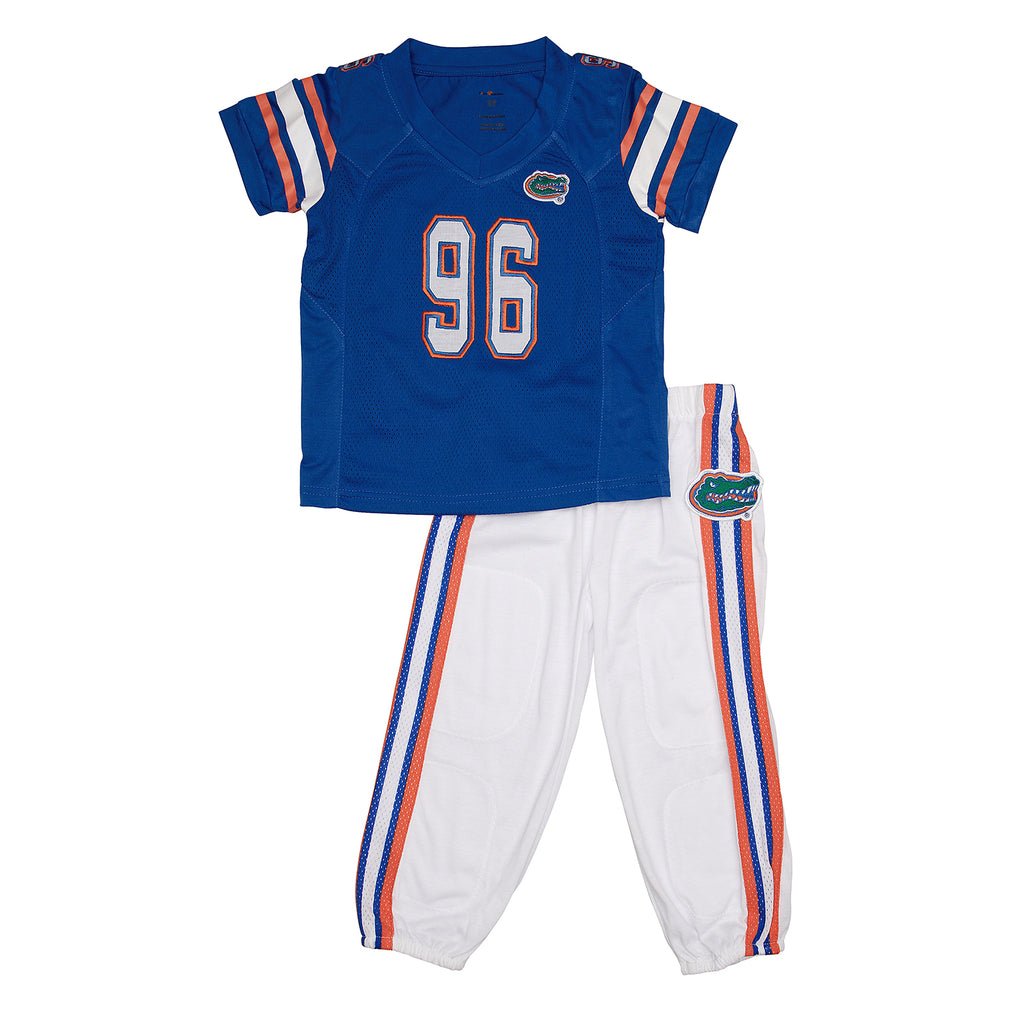 "University of Florida UF Home ""Two-Piece"" Toddler Football Uniform Pajama"