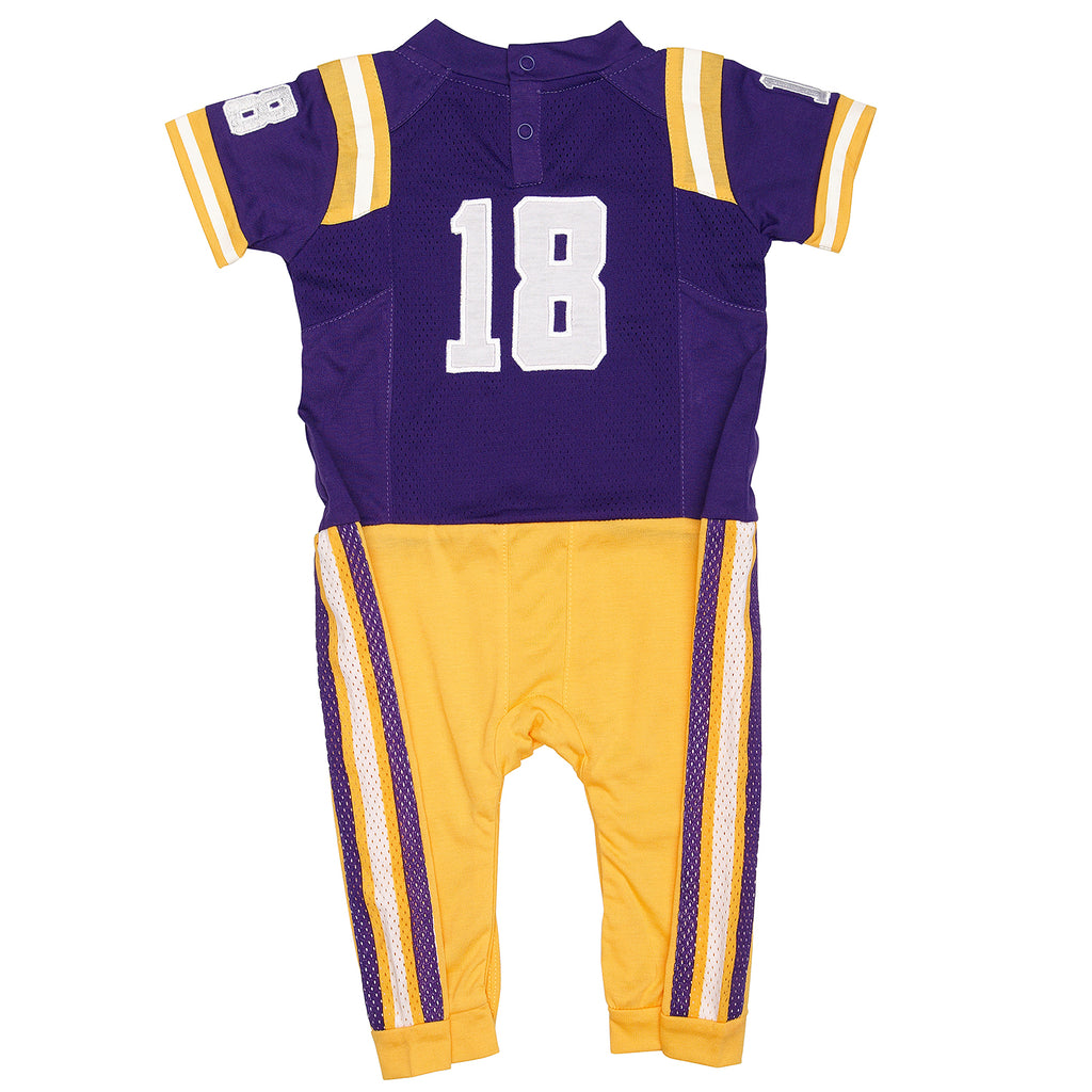 "Louisiana State University LSU Home ""Onesie"" Baby and Infant Pajama"