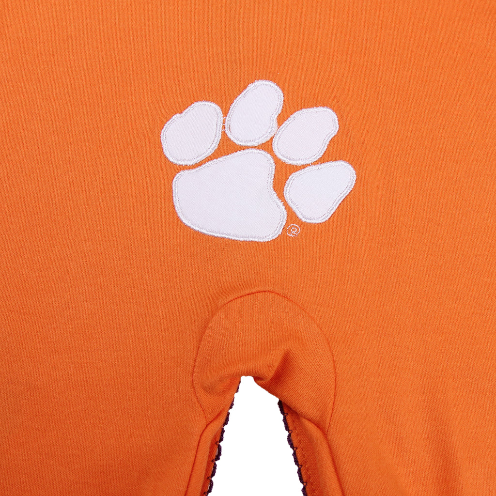 "Clemson University Girls ""Three-Piece"" Sleeper Set - Fast Asleep PJ's"