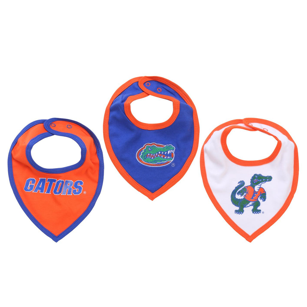 NCAA Florida Gators Bib Baby Boy and Girl