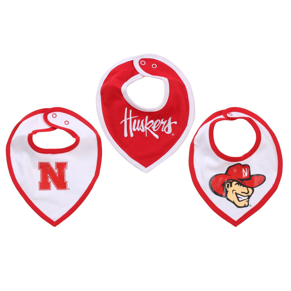 NCAA Nebraska Cornhuskers Baby Boy and Girl Bib