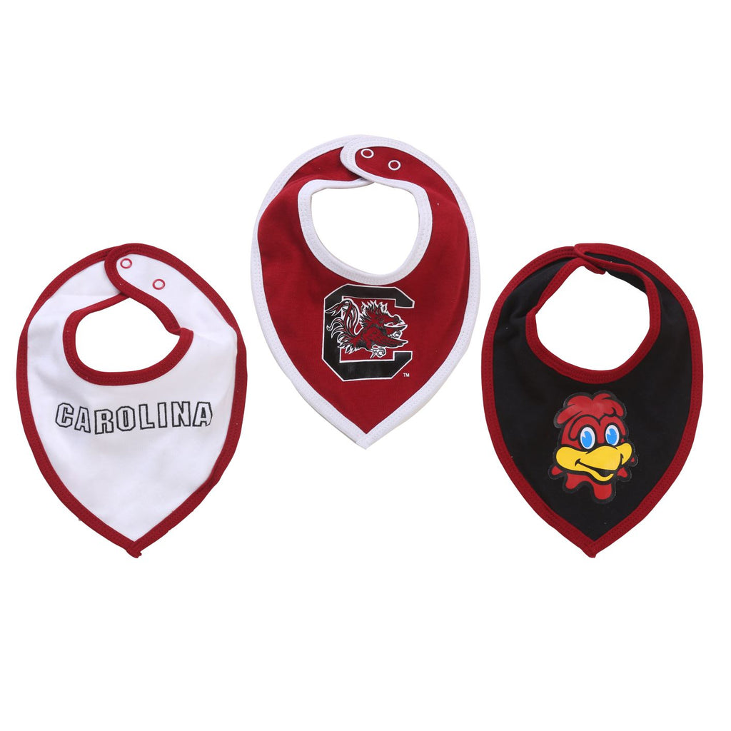 NCAA South Carolina Gamecocks Baby Boy and Girl Bib