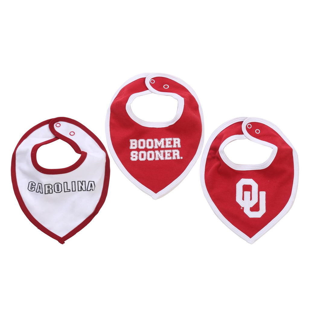 NCAA Oklahoma Sooners Baby Boy and Girl Bib