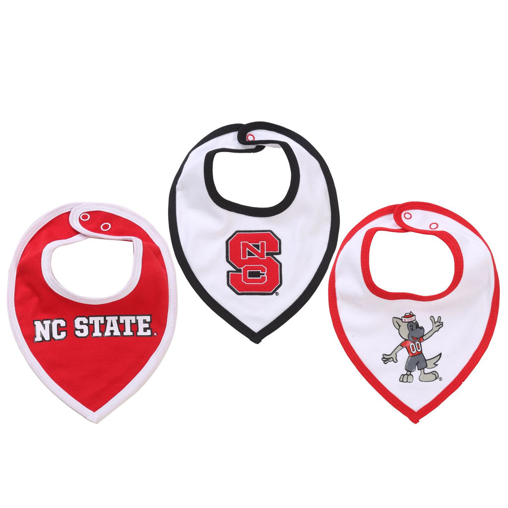 NCAA North Carolina State Wolfpack Baby Boy and Girl Bib
