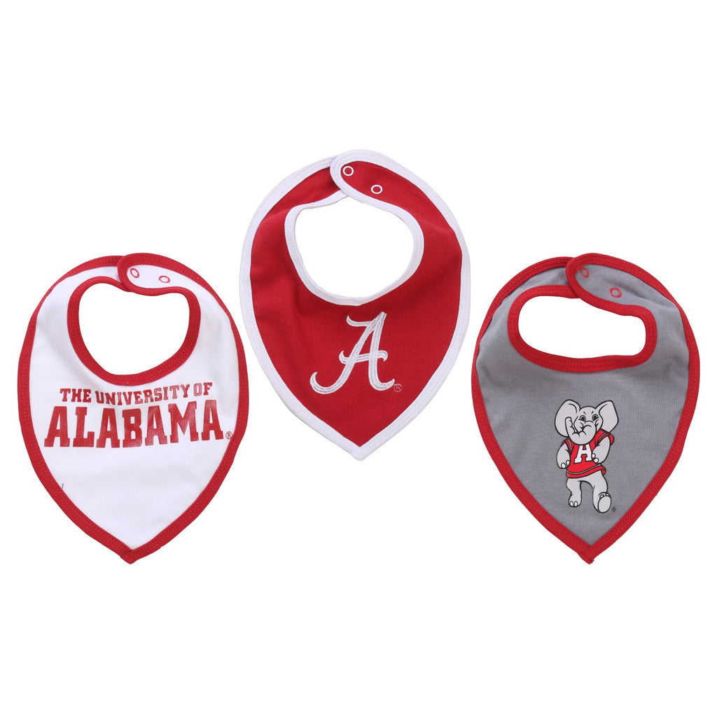 NCAA Alabama Crimson Tide Bib baby Boy and Girl