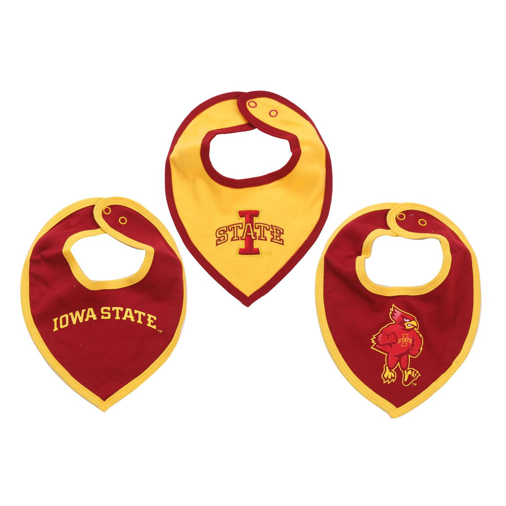 NCAA Iowa State Cyclones Bib Baby Boy and Girl