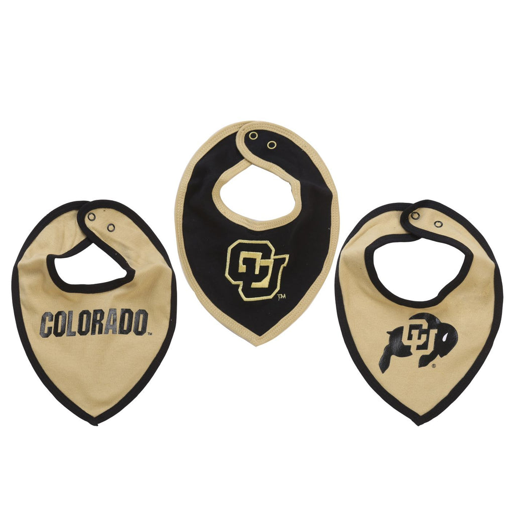 NCAA Colorado Buffaloes Bib Baby Boy and Girl